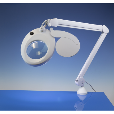 Lightcraft LED Slim Line Magnifier Lamp