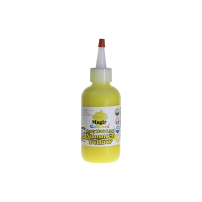 Magic Colours Ready Made Icing - Yellow (165ml)