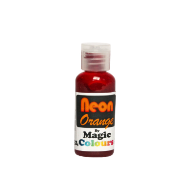 Magic Colours Neon Effect Sugarcraft Paste Colour - Orange (32g)
