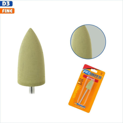 Silicone Buffing Bit - Yellow (Fine)