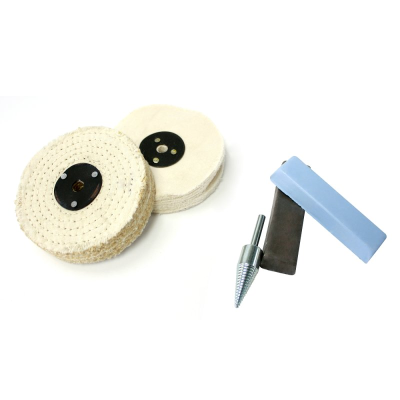 Policraft Ferrous (Hard) Metals Polishing Kit