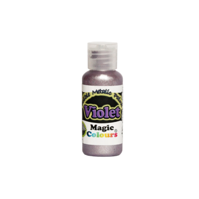 Magic Colours Metallic Paint - Violet (32g)
