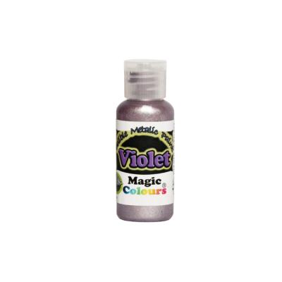 Magic Colours Metallic Paint - Violet (32g)