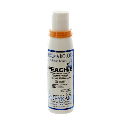 Kopykake Airbrush Colour - Peach (118ml/4oz)