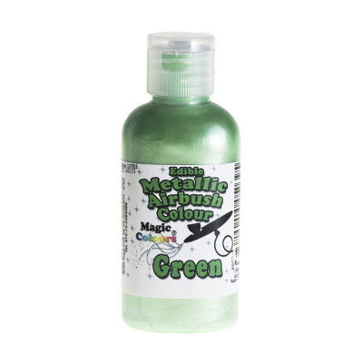 Magic Colours Metallic Airbrush Colour – Green (55ml)