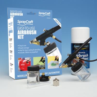 Spraycraft Easy-To-Use Airbrush Kit