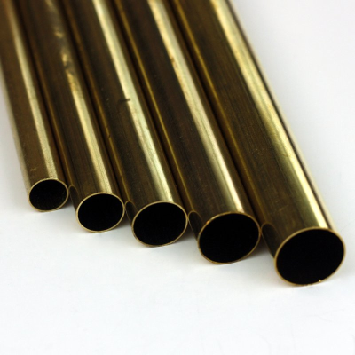 K&S Round Brass Tube 9/16 x .014