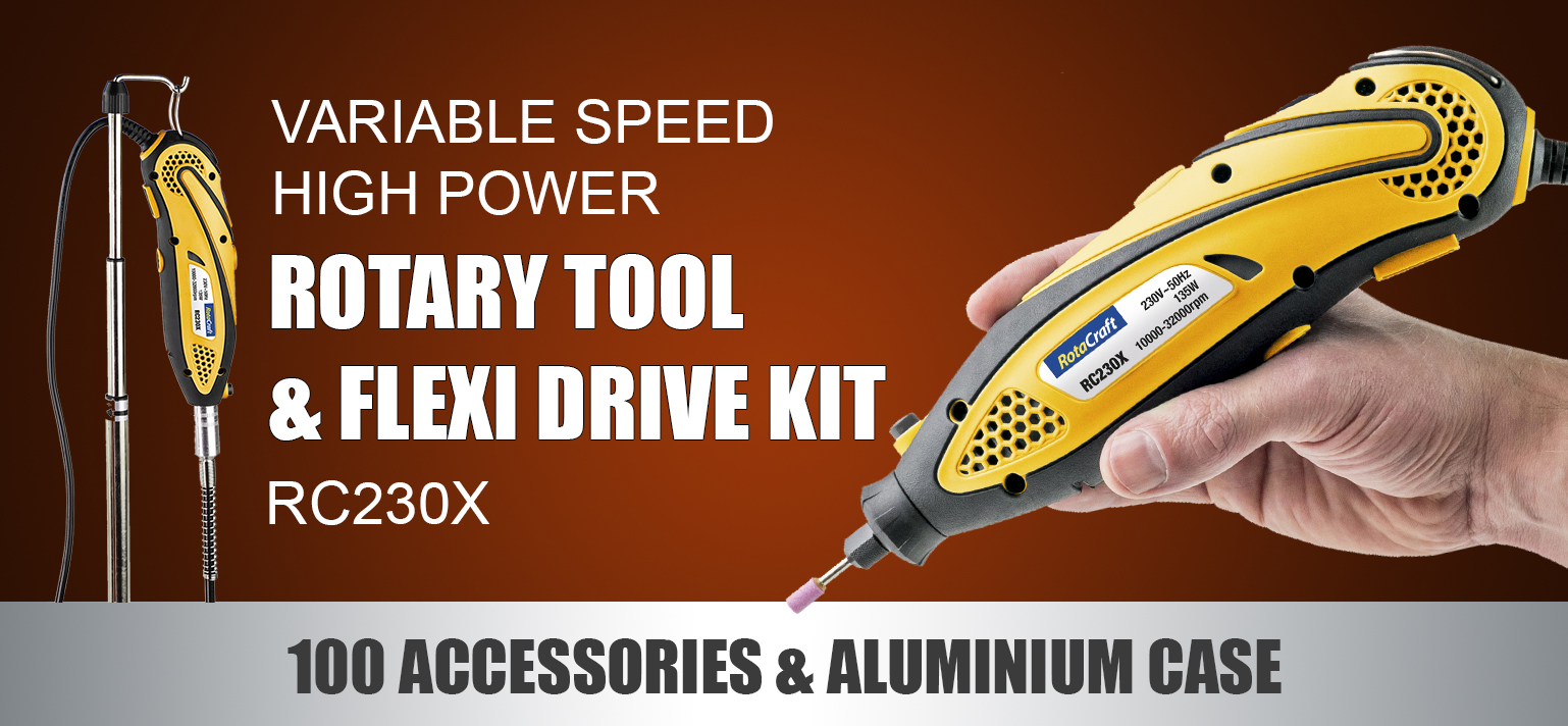 New RC230X Rotary Tool Kit